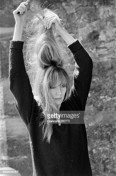 French actress Françoise Dorleac in France in July 1965