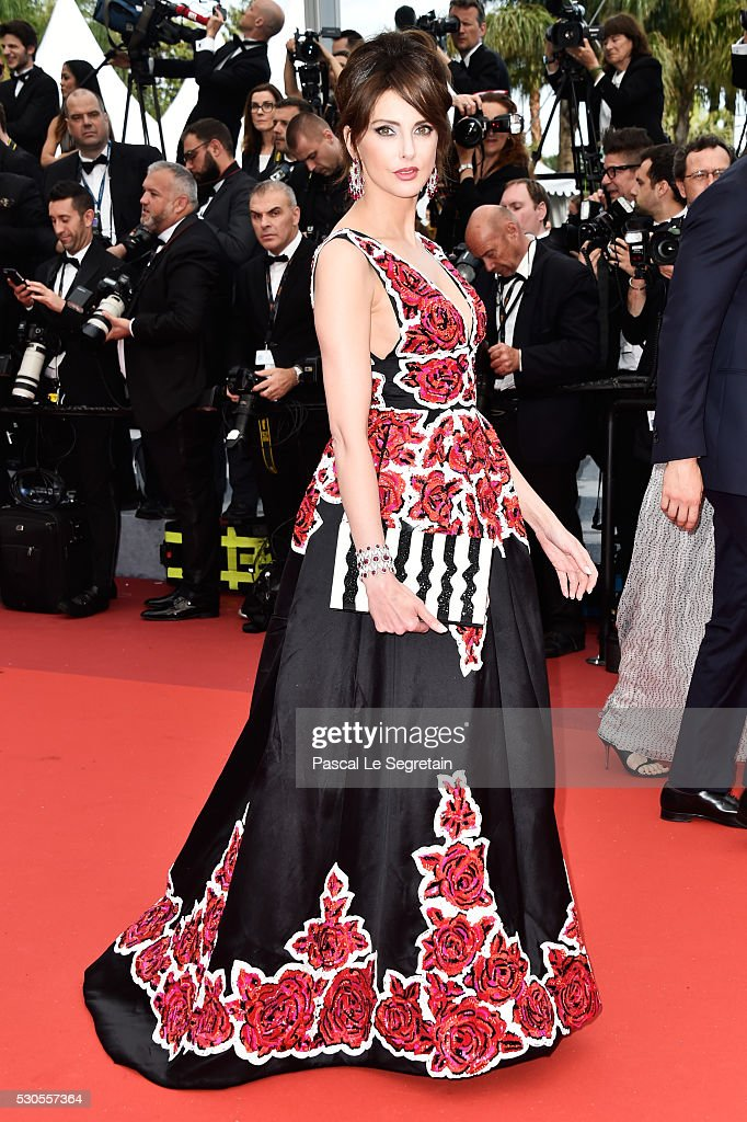 French actress <a gi-track='captionPersonalityLinkClicked' href=/galleries/search?phrase=Frederique+Bel&family=editorial&specificpeople=622597 ng-click='$event.stopPropagation()'>Frederique Bel</a> attends the 'Cafe Society' premiere and the Opening Night Gala during the 69th annual Cannes Film Festival at the Palais des Festivals on May 11, 2016 in Cannes, France.