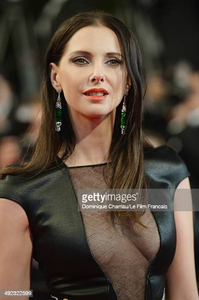 French actress Frederique Bel attends the 'Maps To The Stars' Premiere at the 67th Annual Cannes Film Festival on May 19 2014 in Cannes France