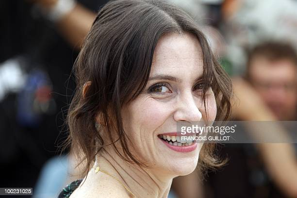 French actress Geraldine Pailhas poses during the photocall of 'Rebecca H ' presented in the Un Certain Regard selection at the 63rd Cannes Film...