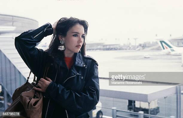 French actress Isabelle Adjani