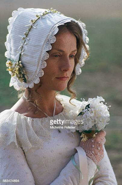 French actress Isabelle Huppert in the role as Emma Bovary