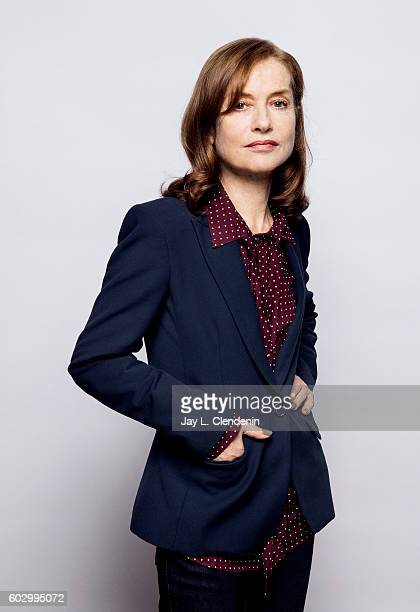 French actress Isabelle Huppert of 'Things to Love' poses for a portraits at the Toronto International Film Festival for Los Angeles Times on...