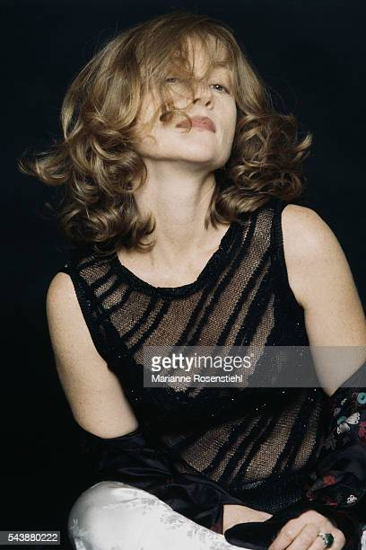 French actress Isabelle Huppert