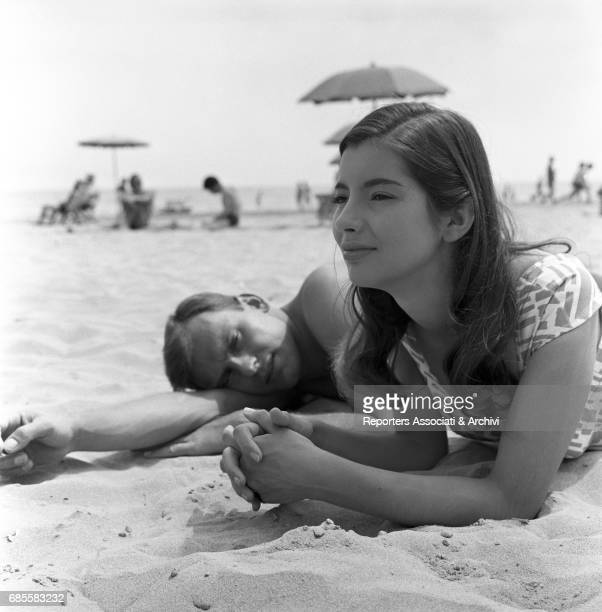 French actress Jacqueline Sassard playing a young bourgeoise falling in love with the son of a fascist hierarch named Carlo played by French actor...