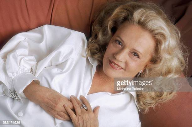 French Actress Jeanne Moreau