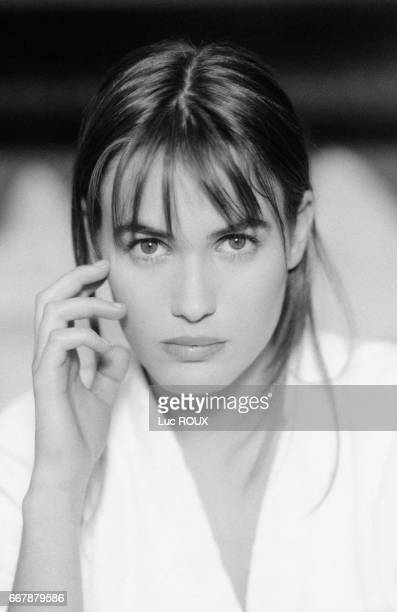 French actress Judith Godreche