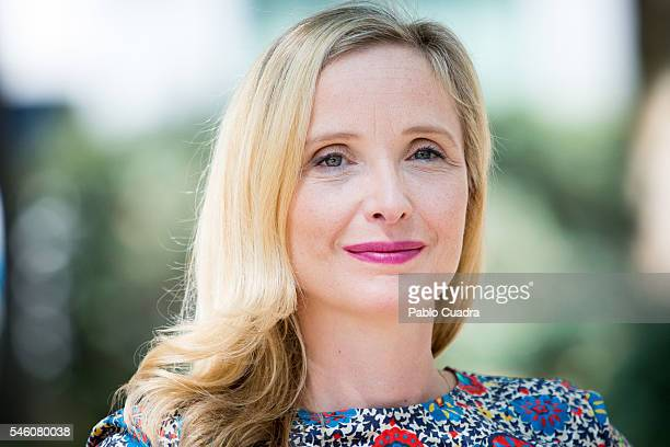 French actress Julie Delpy attends 'Lolo' photocall at Golem Cinema on July 11 2016 in Madrid Spain