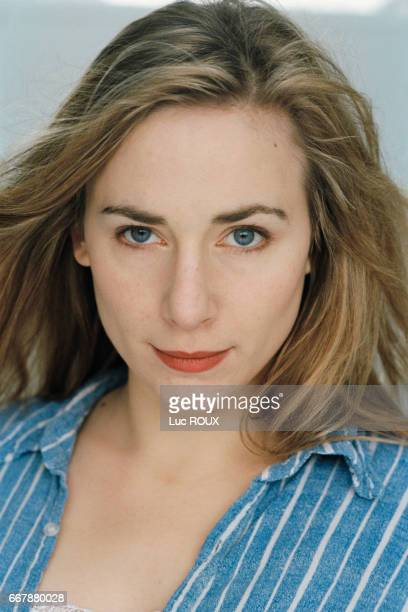 French actress Julie Depardieu
