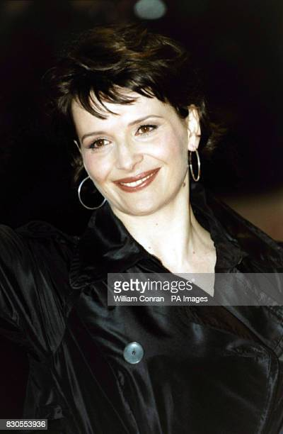 French actress Juliette Binoche during The Orange British Academy Film Awards at the Odeon in London's Leicester Square The ceremony has been brought...