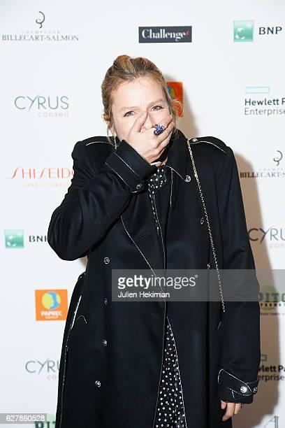 French actress Karin Viard Laureate of the prize of the woman of influence Coup de Coeur attends the 'Prix De La Femme D'Influence De L'Annee' Award...
