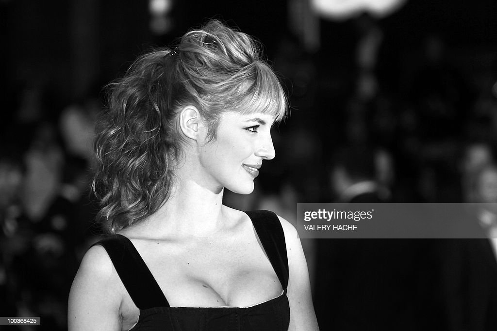 French actress Louise Bourgoin arrives for the screening of 'Copie Conforme (Certified Copy) presented in competition at the 63rd Cannes Film Festival on May 18, 2010 in Cannes.