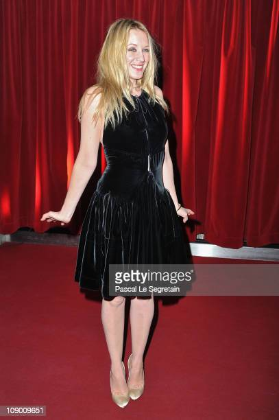 French actress Ludivine Sagnier attends 'The Devils Double' Premiere during day two of the 61st Berlin International Film Festival at...