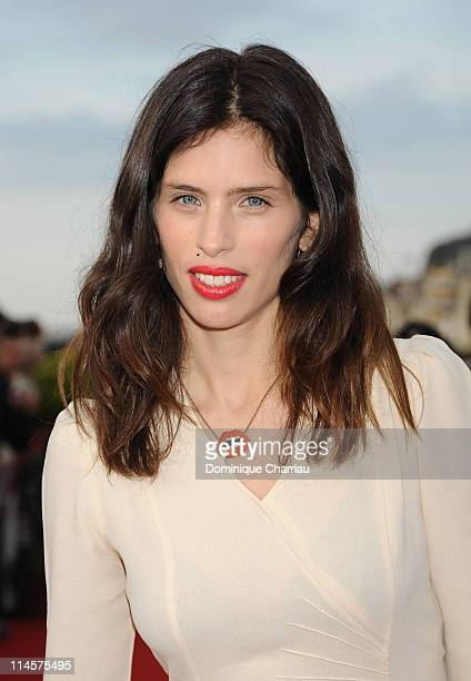 French actress Maiwenn Le Besco attends Festival Romantique de Cabourg on June 14 2008 in Cabourg France