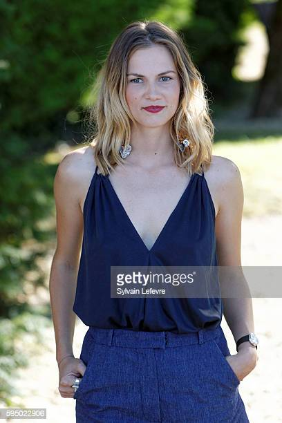 French actress Margot Bancilhon attends 9th Angouleme FrenchSpeaking Film Festival on August 24 2016 in Angouleme France