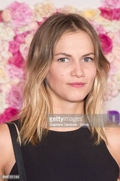 French Actress Margot Bancilhon attends the 'Bridget Jones Baby' Paris Premiere at the Grand Rex on September 6 2016 in Paris France