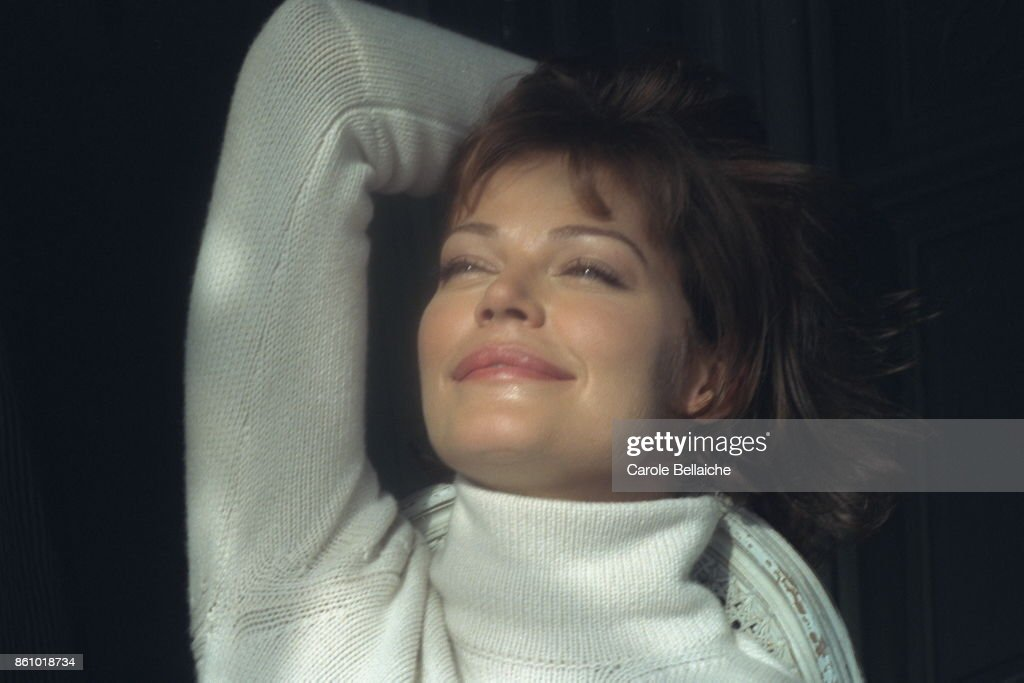 French actress Marianne Denicourt.