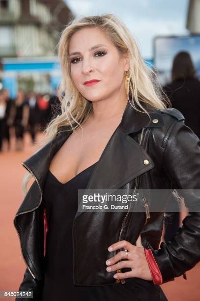 French actress Marilou Berry arrives at the closing ceremony of the 43rd Deauville American Film Festival on September 9 2017 in Deauville France