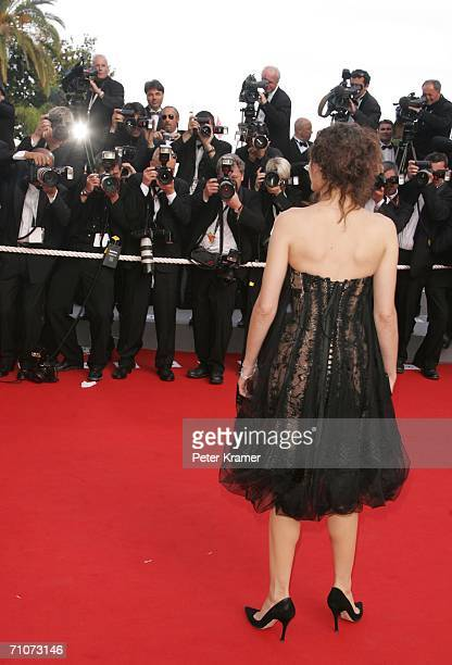 French actress Marion Cotillard attends the premiere of 'Transylvania' during the 59th International Cannes Film Festival closing ceremony at the...