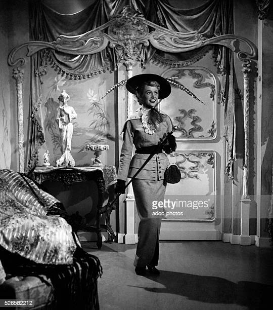 French actress Martine Carol in the film 'Je n'aime que to' by Pierre Montazel Ca 1949
