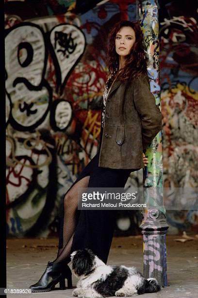 French Actress Mathilda May