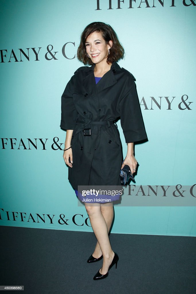 French actress <a gi-track='captionPersonalityLinkClicked' href=/galleries/search?phrase=Melanie+Doutey&family=editorial&specificpeople=626630 ng-click='$event.stopPropagation()'>Melanie Doutey</a> attends the Tiffany & Co Flagship Opening on the Champs Elysee on June 10, 2014 in Paris, France.