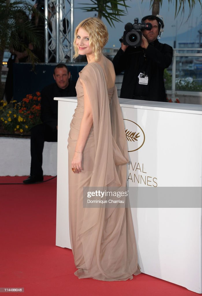 French actress Melanie Laurent during the Palme D'Or Winners Photocall at the 64th Annual Cannes Film Festival at the Palais des Festivals on May 22, 2011 in Cannes, France.