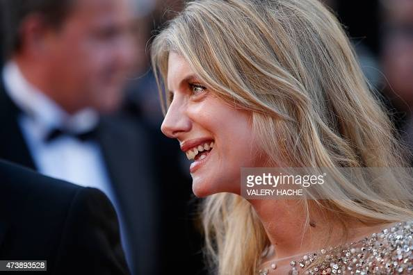 French actress melanie laurent smiles as she arrives for for Inside french film
