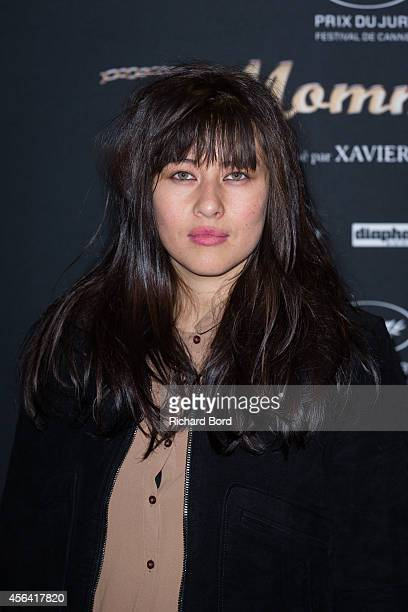 French actress Mylene Jampanoi attends the 'Mommy' Paris premiere at MK2 Bibliotheque on September 30 2014 in Paris France