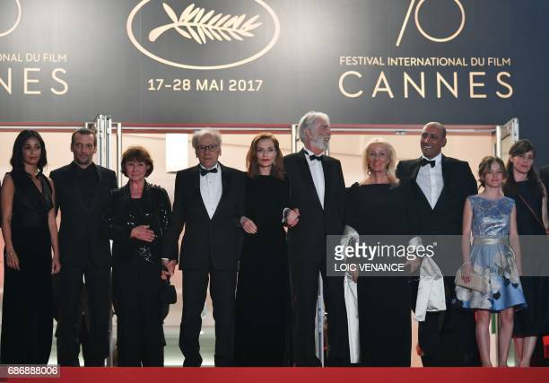 French actress Nabiha Akkari French actor Mathieu Kassovitz French actor JeanLouis Trintignant and his wife Marianne Hoepfner French actress Isabelle...