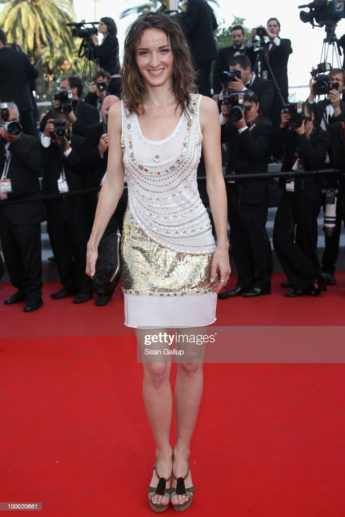 French actress Salome Stevenin attends the 'Fair Game' Premiere at the Palais des Festivals during the 63rd Annual Cannes Film Festival on May 20, 2010 in Cannes, France.