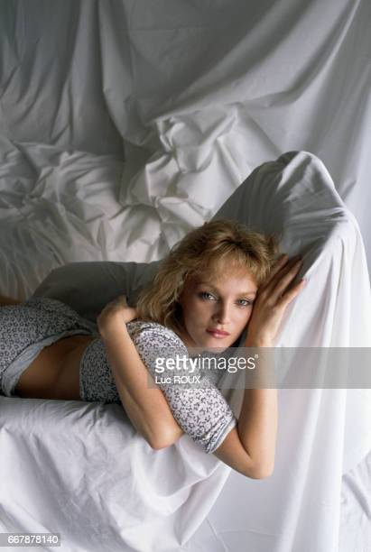 French actress, singer, and director Arielle Dombasle during the Cannes Film Festival.