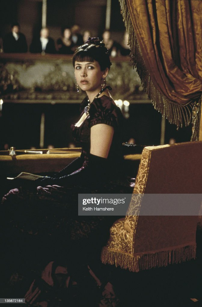 French actress <a gi-track='captionPersonalityLinkClicked' href=/galleries/search?phrase=Sophie+Marceau&family=editorial&specificpeople=220531 ng-click='$event.stopPropagation()'>Sophie Marceau</a> as the literary heroine in the film 'Leo Tolstoy's Anna Karenina', 1997.