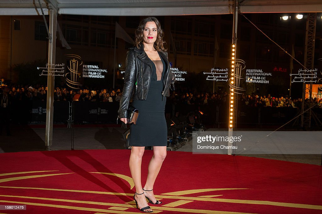 French actress Zoe Felix arrives to the awrard ceremony of the 12th International Marrakech Film Festival on December 8, 2012 in Marrakech, Morocco.
