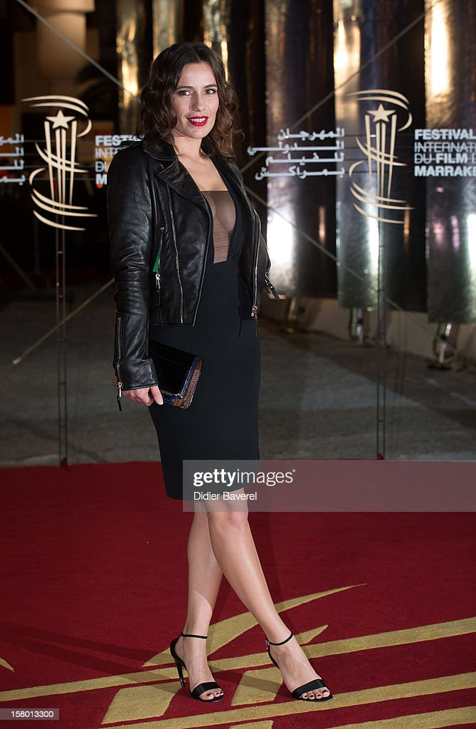 French actress Zoe Felix attends the closing ceremony at 12th International Marrakech Film Festival on December 8, 2012 in Marrakech, Morocco.