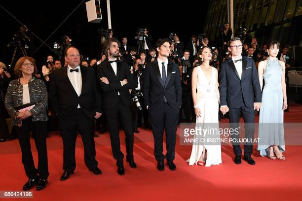 French actress/director and Swiss director JeanLuc Godard's exwife Anne Wiazemsky French actor Gregory Gadebois French actor Misha Lescot French...