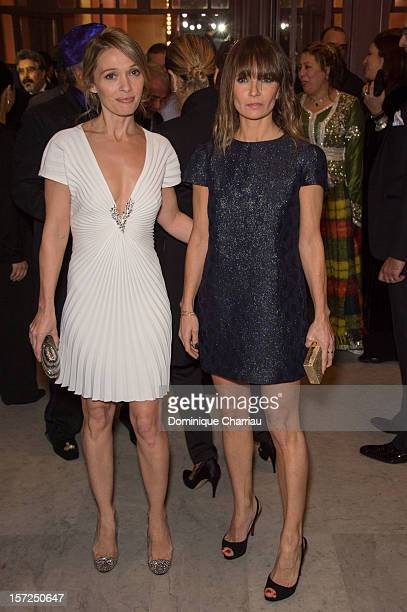 French Actresses Anne Marivin and Axelle Laffont Attend the 'Touch Of The Light' Opening Film of the 12th Marrakech International Film Festival on...