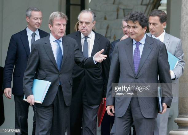 French Agriculture Minister Bruno Le Maire French Foreign Minister Bernard Kouchner French Minister of Culture Frederic Mitterand French Secretary of...