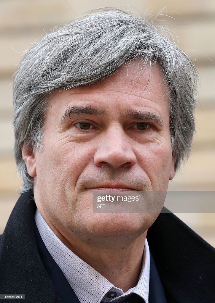 French Agriculture Minister Stephane Le Foll arrives, on November 26, 2012 at the elite research institution College de France in Paris, to attend the opening of the meeting for Higher Education and Research.