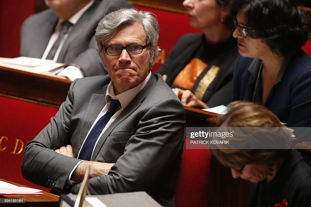 French Agriculture Minister Stephane Le Foll attends a session of Questions to the Government, on May 25, 2016 at the National Assembly in Paris.