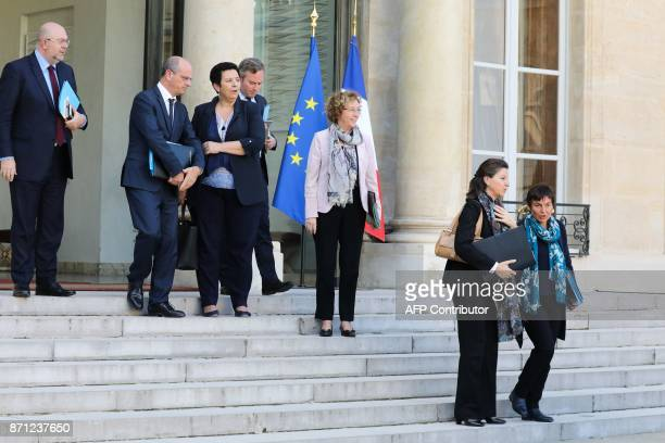 French Agriculture Minister Stéphane Travert French Education Minister JeanMichel Blanquer French Minister of Higher Education Research and...