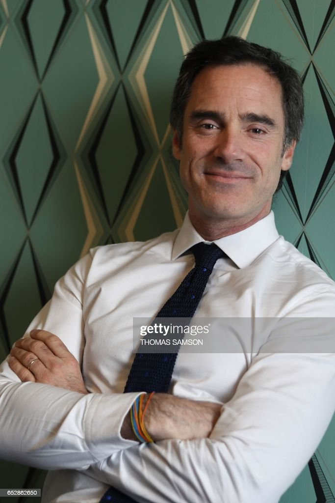 French Alexis de Gemini, CEO of Deezer France, poses in Paris, on March 13, 2017. Fnac and Deezer have entered into an alliance that aims to give a boost to recruiting subscribers to the French lea...