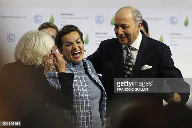 French Ambassador for the international Climate Negotiations Responsible for COP21 Laurence Tubiana Executive Secretary of the United Nations...