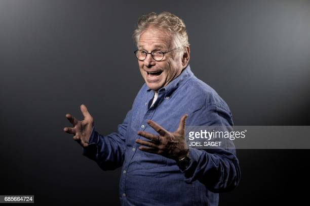 French and German former European parliamentarian and ecologist Daniel CohnBendit poses during a photo session in Paris on May 8 2017 / AFP PHOTO /...