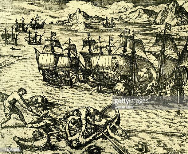 French and Spanish adventurers fighting in the Southern SeasLate 16th 17th century sailors deserters seeking their forturnes on the high seas