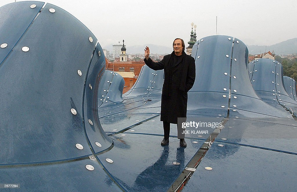 French Architect french architect colin fournier stands o pictures | getty images