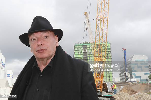 French Architect french architect jean nouvel arrives for the groundbreaking