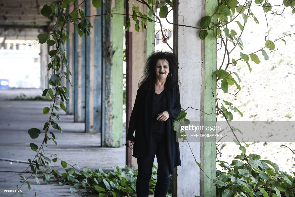 French Architect french architect odile decq poses near the confluence institute