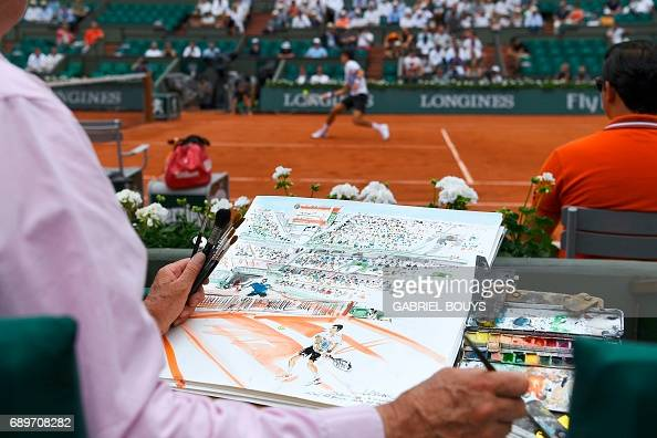 TENNIS-FRA-OPEN-MEN-FEATURE : News Photo