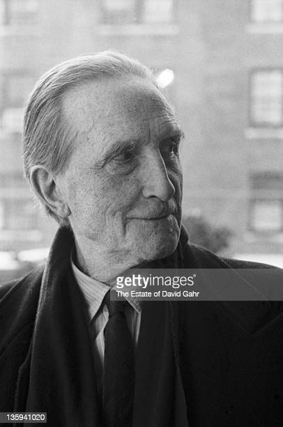 French artist Marcel Du Champ poses for a portrait in January 1965 in New York City New York